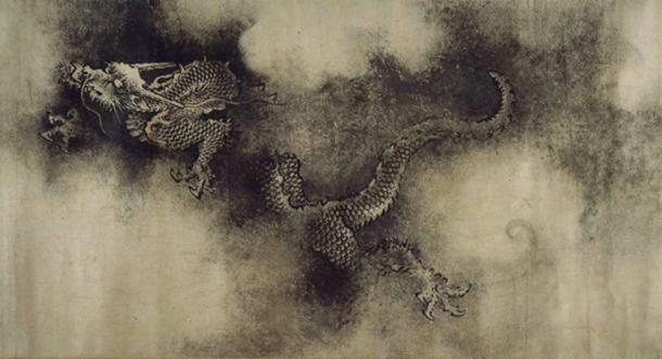 Девет дракона от Чен Ронг, 13 век