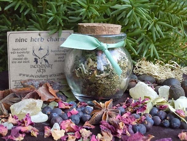 Nine herb charm
