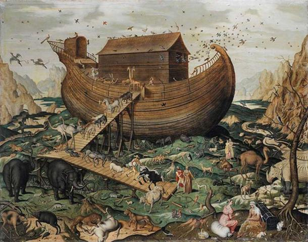 'Noah's ark on the Mount Ararat' (1570) by Simon de Myle.