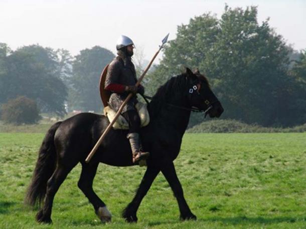 Norman knight on horseback. (thomas owen /Adobe Stock)