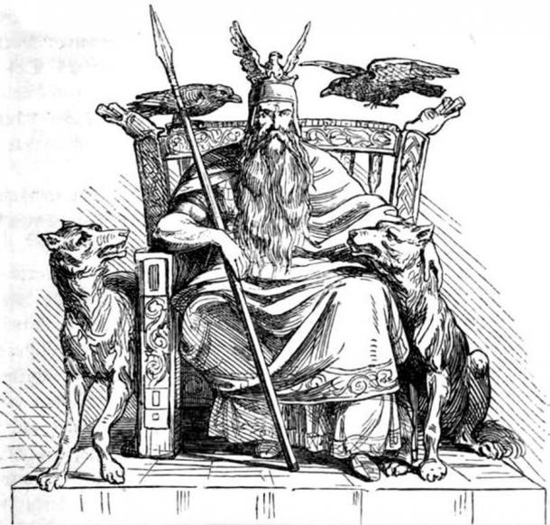 The Norse God, Odin