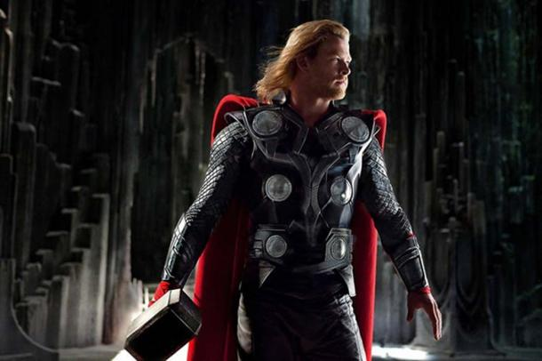 Chris Hemsworth as famous Norse god Thor in the 2011 film of the same name.