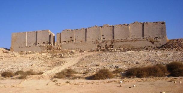 North View of Taposiris Magna Osiris Temple