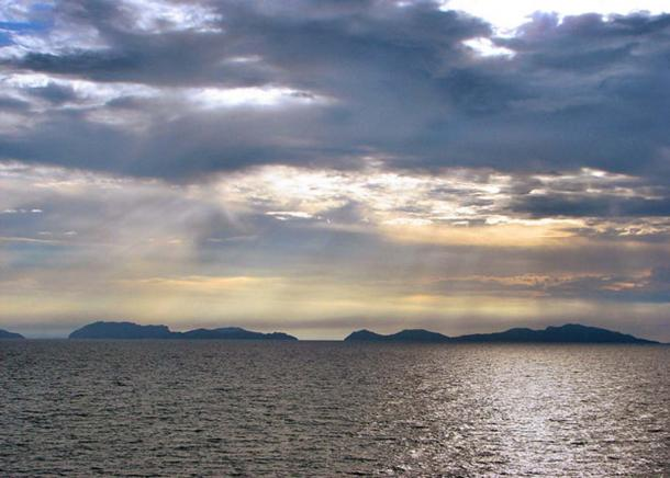 North and South Gigante Islands (right and left respectively), Iloilo Province, Philippines