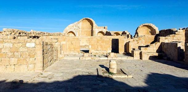The Northern Church, Shivta. (Dror Maayan)