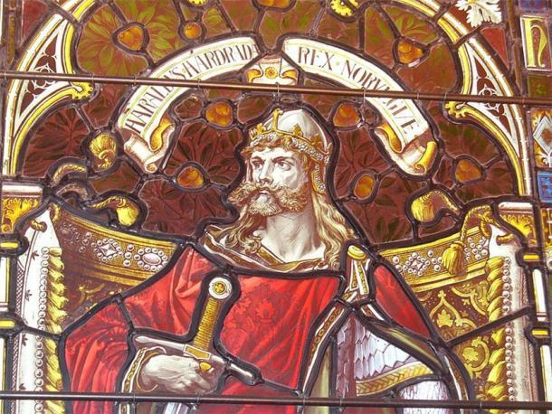 Norwegian king Harald Hardrada (Harald III.) in Kirkwall Cathedral. (Colin Smith / CC BY SA 2.0)
