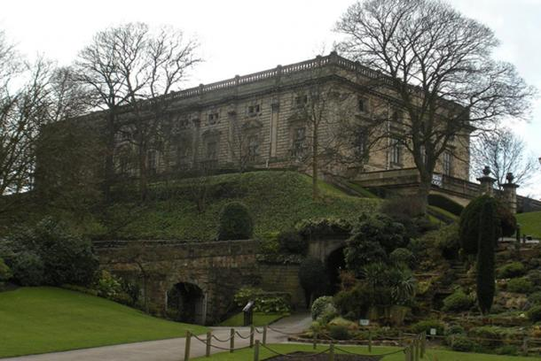 A view of Nottingham Castle today.