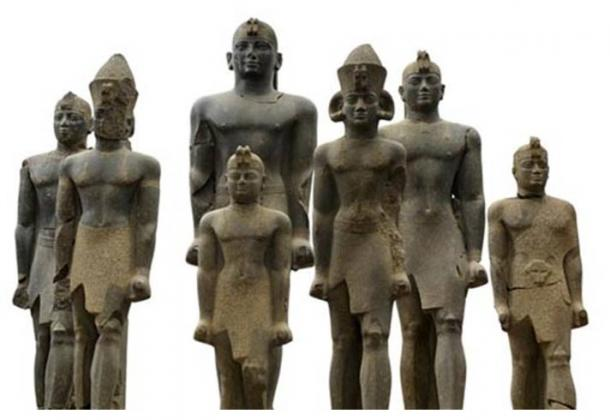 Nubian pharaohs of the 25th Dynasty