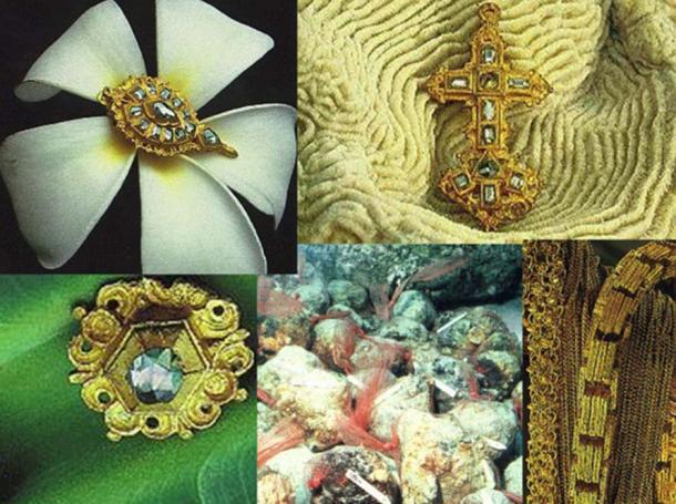Treasures from Nuestra Señora de la Concepción ship.