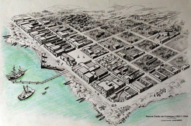 Nueva Cádiz, 1523 (CC BY-SA 2.5)