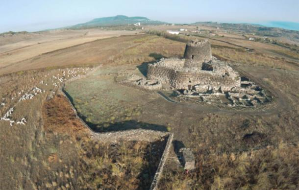 Nuraghe Santu Antine, the largest nuraghe. (Antonio Figoni, CC BY-SA 4.0)