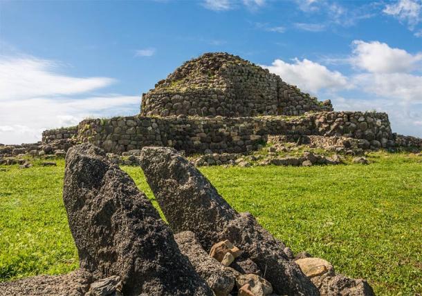 Nuraghe 'Su Nuraxi' in Barumini, Sardinia, Italy, a UNESCO World Heritage Site (lorenza62 / Adobe Stock)