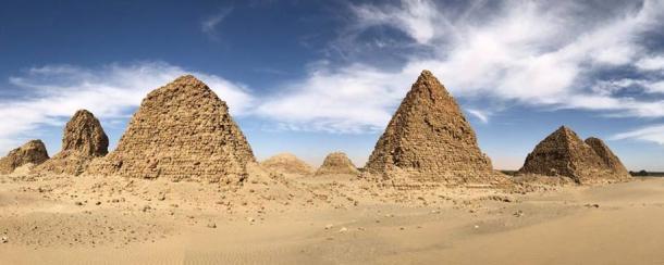 Nuri pyramids