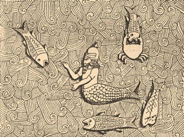Oannes. Brockhaus and Efron Jewish Encyclopedia (1906—1913) (Public Domain)