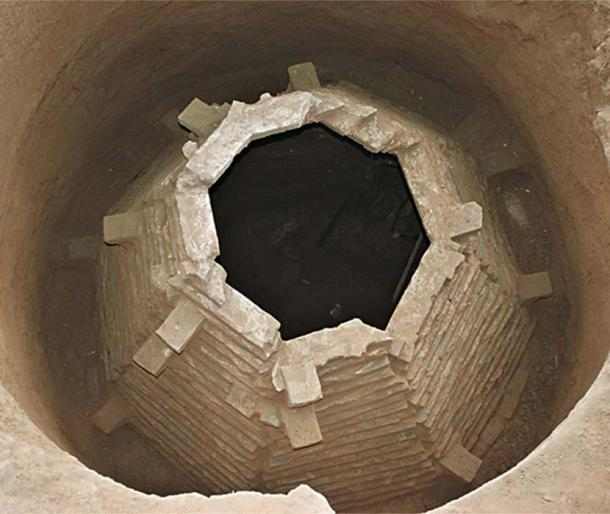 Octagon shaped tomb was discovered in 2012. (Image: Chinese Cultural Relics)