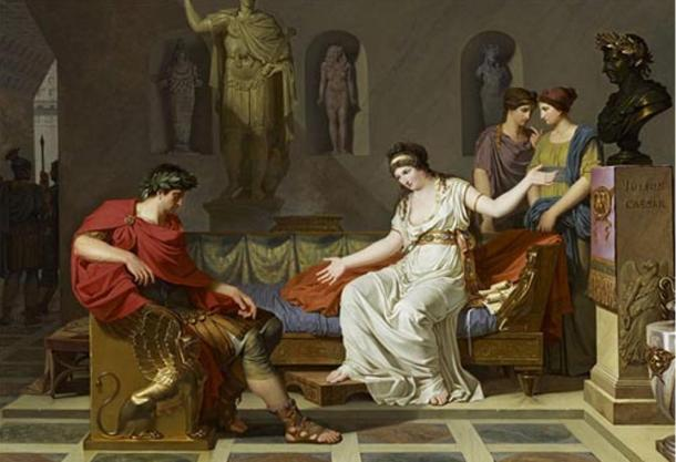 Octavian and Cleopatra by Louis Gauffier, 1787 (Public Domain).
