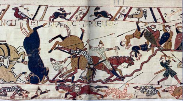Odo has been credited as having commissioned the Bayeux tapestry which remains one of the best records of the era in existence today. (Public domain)