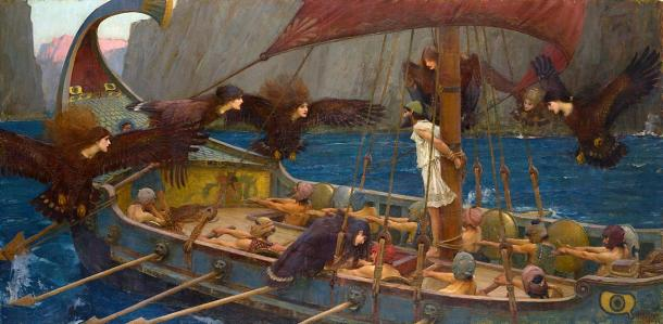 Odysseus and the Sirens - 1891 painting. (Artwork / Public Domain)