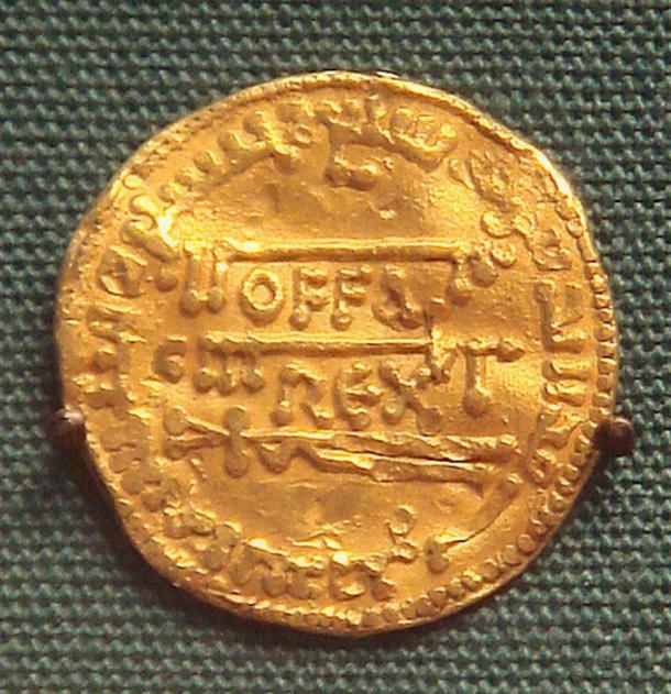 Offa King of Mercia 757-793 gold dinar. (PHGCOM / Public Domain)