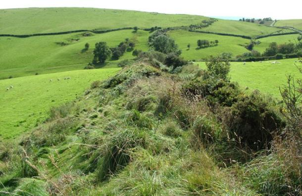 Offa's Dyke, Llanfair Hill, Powys. (GeographBot / CC BY-SA 2.0)