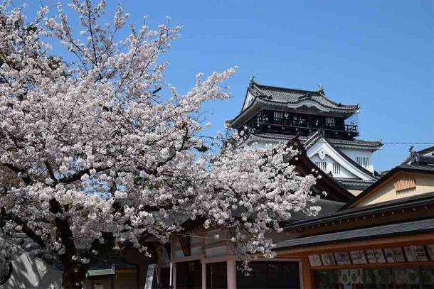 Tokugawa Ieyasu was born at Okazaki Castle in 1543 AD. (Bariston / CC BY-SA 4.0)