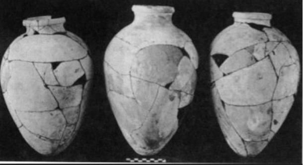 Old Kingdom pottery from the tomb of Hetepheres