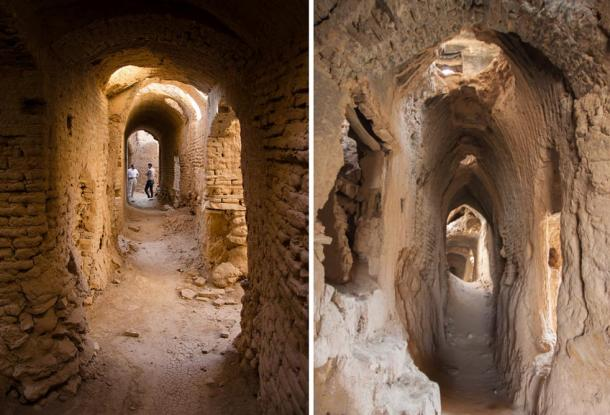 The Old Town is a labyrinth of streets, tunnels and passageways.