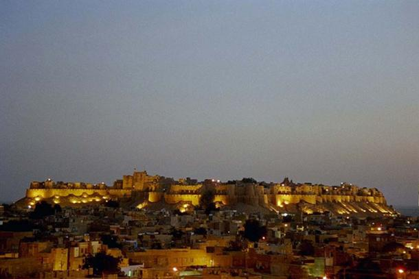 Old town / Fort of Jaisalmer, Rajasthan, India.