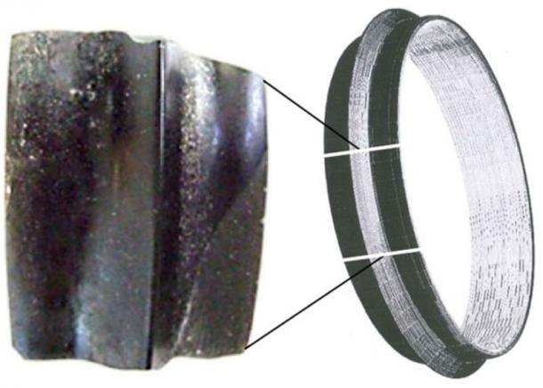 Oldest obsidian bracelet ever identified, Asikli Hoyuk, Turkey