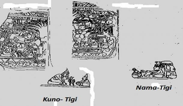 The Olmec Cults represented on Izapa Stela No. 5.