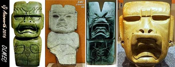 Olmec God X - Were-jaguar. (Author provided)