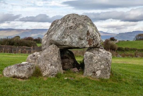 One of the dolmens at Carrowmore. (Image: Ioannis Syrigos)