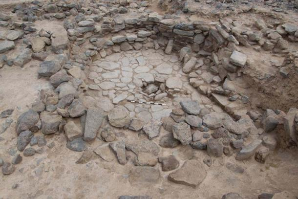 One of the excavated structures at Shubayqa. (University of Copenhagen)