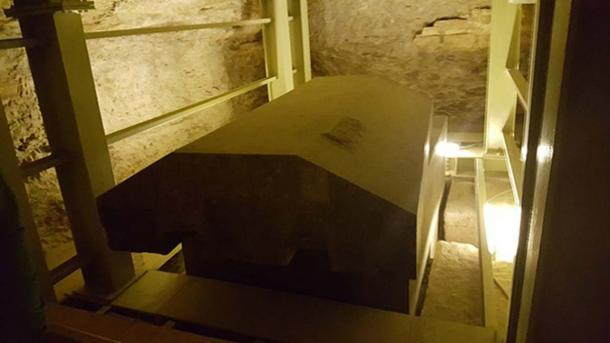 One of the granite coffins in the Serapeum, Saqqara, Egypt. (Ovedc/CC BY SA 4.0)