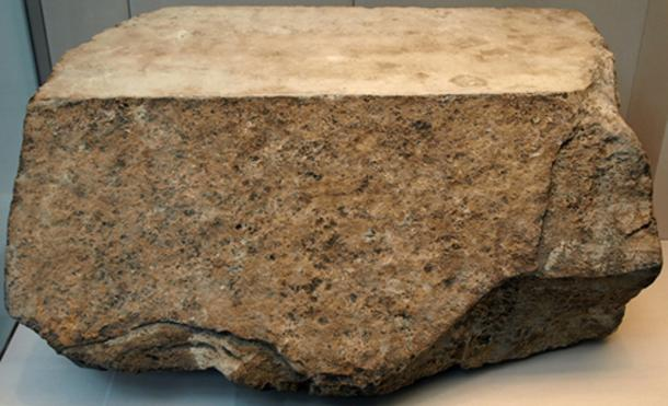 One of the original casing stones for the Great Pyramid (circa 2570 BC), most of which were removed during medieval times. This block was found in the rubble surrounding the pyramid. (British Museum / CC BY-SA 3.0)
