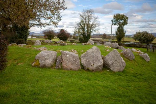 One out of dozens of satellite tombs found at Carrowmore Megalithic Cemetery (Image: Ioannis Syrigos)