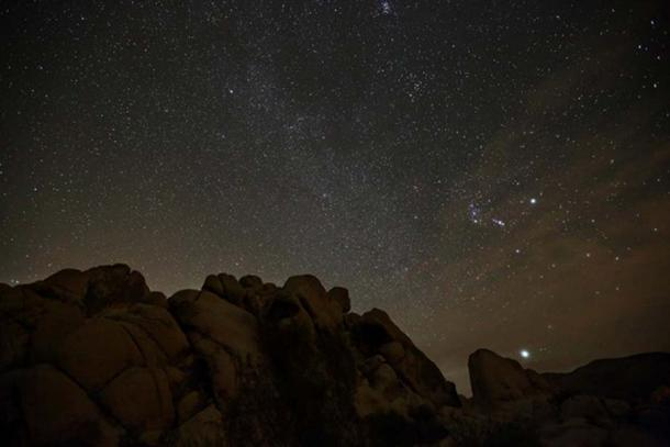 Orion, Taurus, Lepus and Part of Canis Major (Sirius and Murzim). (nate2b/CC BY NC ND 2.0)