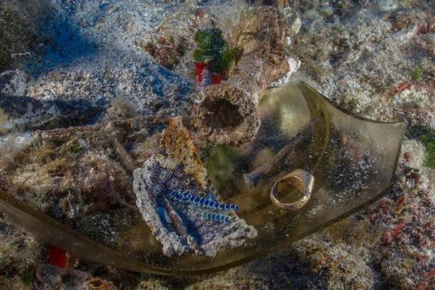 Ornate glassware, perfume jars and gold jewelry were recovered from the 2,000-year-old Antikythera shipwreck.
