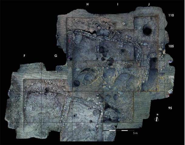 Orthophotograph of area A. (Image: Kharaysin archaeological team/ Antiquity Publications Ltd)