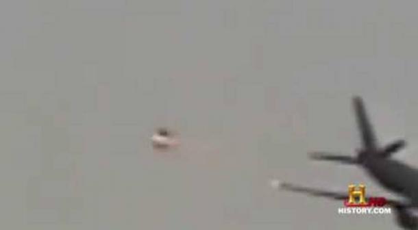 Osaka airport UFO Incident, Japan