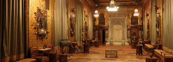Ottoman room in Peleș castle, Romania