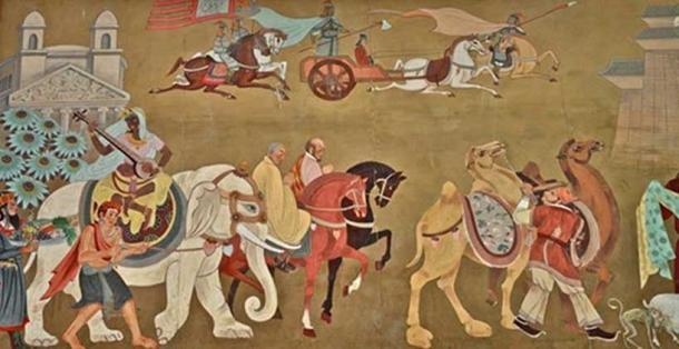 Overland on the Ancient Silk Road.
