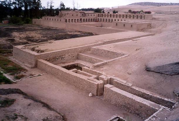 Pachacamac archeological site