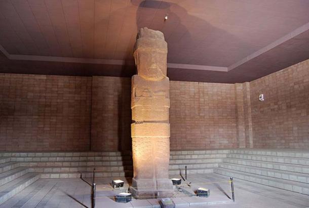 Pachamama monolith or Bennett Monolith, Tiahuanaco Museum, Bolivia. (CC BY 3.0)
