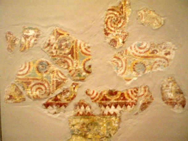 Painted ceiling decoration from the tomb of Senenmut (SAE 71).