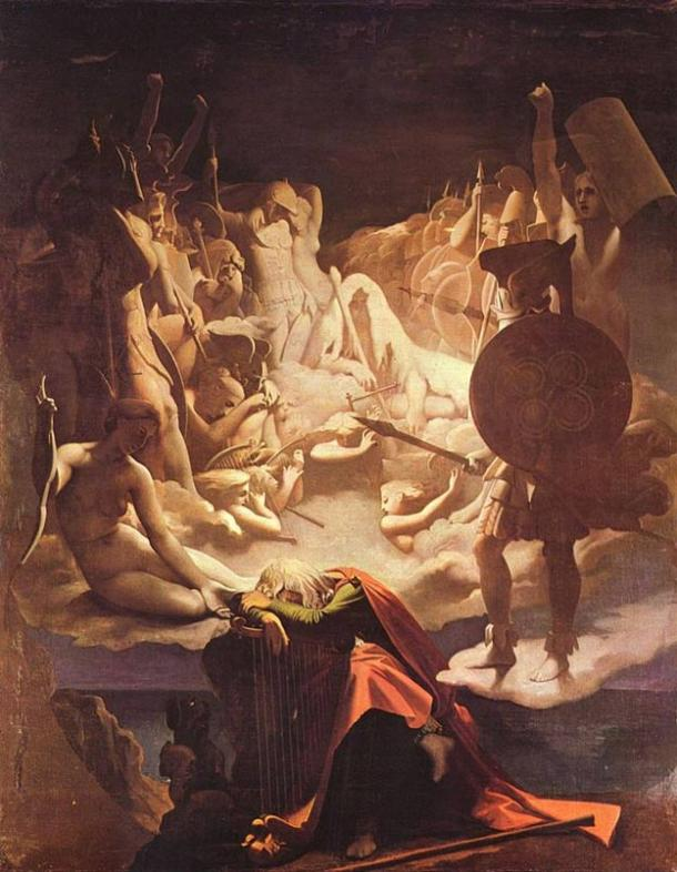 Painting, Ossian's dream. 1813.