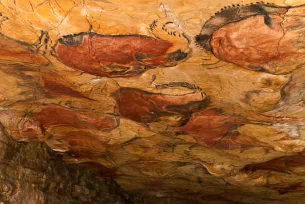 Paintings in Altamira Cave in Spain include some from the Gravettian culture.