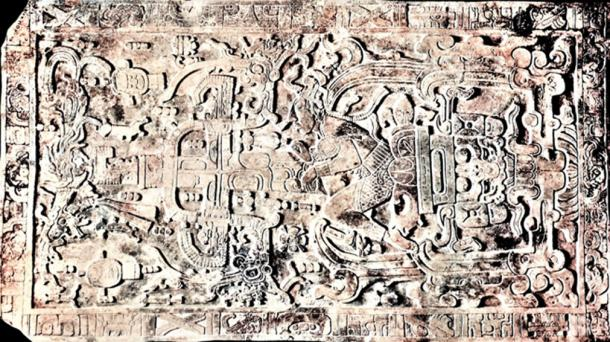 Pakal's Sarcophagus 5-ton slab in his crypt in Palenque. (© georgefery.com / Author Supplied)