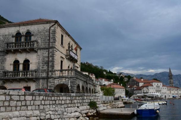 The Palace of Count Vicko Bujović today. (Aleksa Vučković)