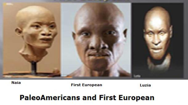 PaleoAmericans and First European